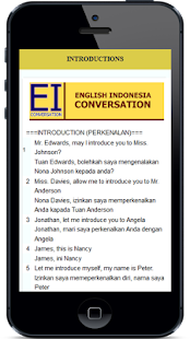 English Conversation- screenshot thumbnail