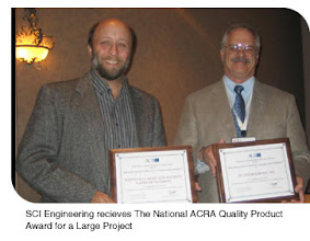 Photo: Dr. Steven Dasovich receiving National ACRA Product Award for a Large Project (archaeological project) 2009. MA FSU, Ph.D. U. Missouri.