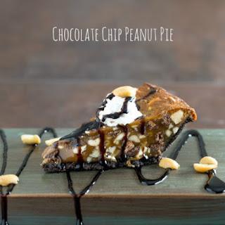Chocolate Chip Peanut Pie