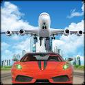 Car Transporter Airplane Pilot icon