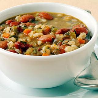Bean and Barley Soup.
