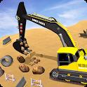 Offroad Construction Machines - City Excavator icon