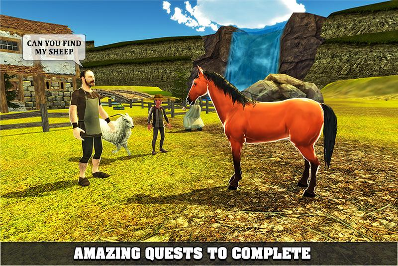 Furious Horse Survival Sim 🐎- screenshot