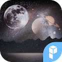 Outer Space Launcher theme icon