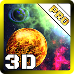 3D Space Planets LWP v1.4