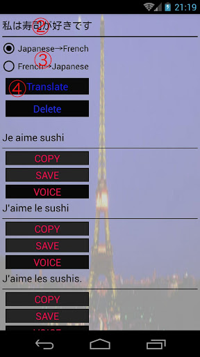 Japanese-French Translator