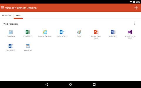 Microsoft Remote Desktop v8.1.15.32