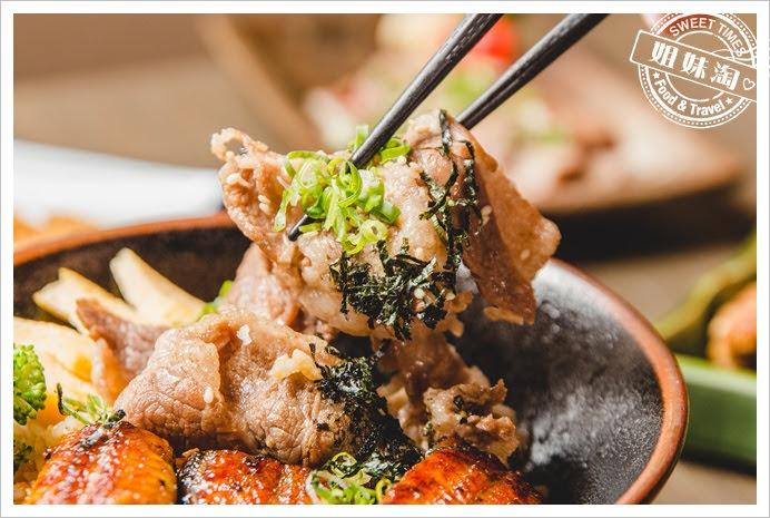 浪漫鰻屋鰻牛燒肉丼