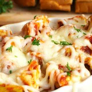 Baked Cheesy Tortellini Recipe