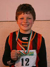 Photo: Jack Ryan, Moycarkey Coolcroo A.C. who won the National Indoor Boys U/12 Long Jump