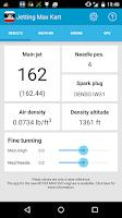 Screenshot of Jetting Max Kart for Rotax
