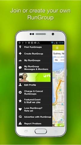 android RunGroup Screenshot 2