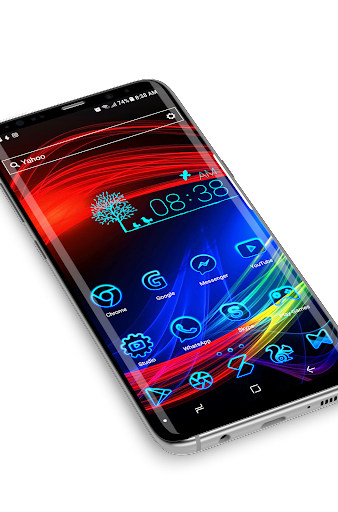 Neon 2   HD Wallpapers - Theme Screenshot