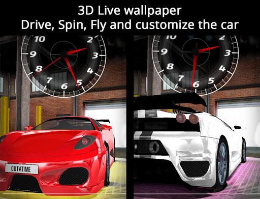 玩個人化App UR 3D Sport Car Live Theme免費 APP試玩