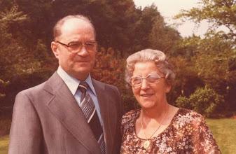 Photo: Wim en Neeltje den Breejen 40 jaar getrouwd 24 juni 1979.