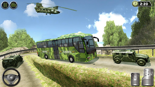 OffRoad US Army Helicopter Prisoner Transport Game 2.2 screenshots 6