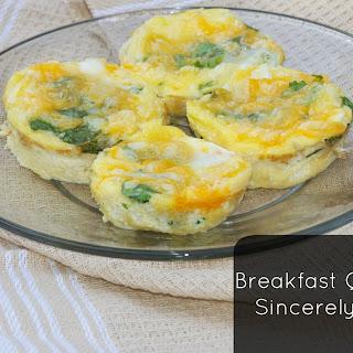 Breakfast Quiche Muffins.