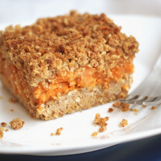 Apple Pumpkin Crumble Bars