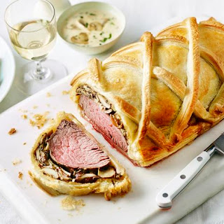 Beef Wellington with Tarragon Sauce Recipe