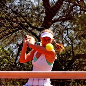 Head on by Jaksa Kuzmicic - Sports & Fitness Tennis ( tournament, hvar, tennis )