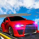 Extreme Sky High Car Driving Game 2019 icon