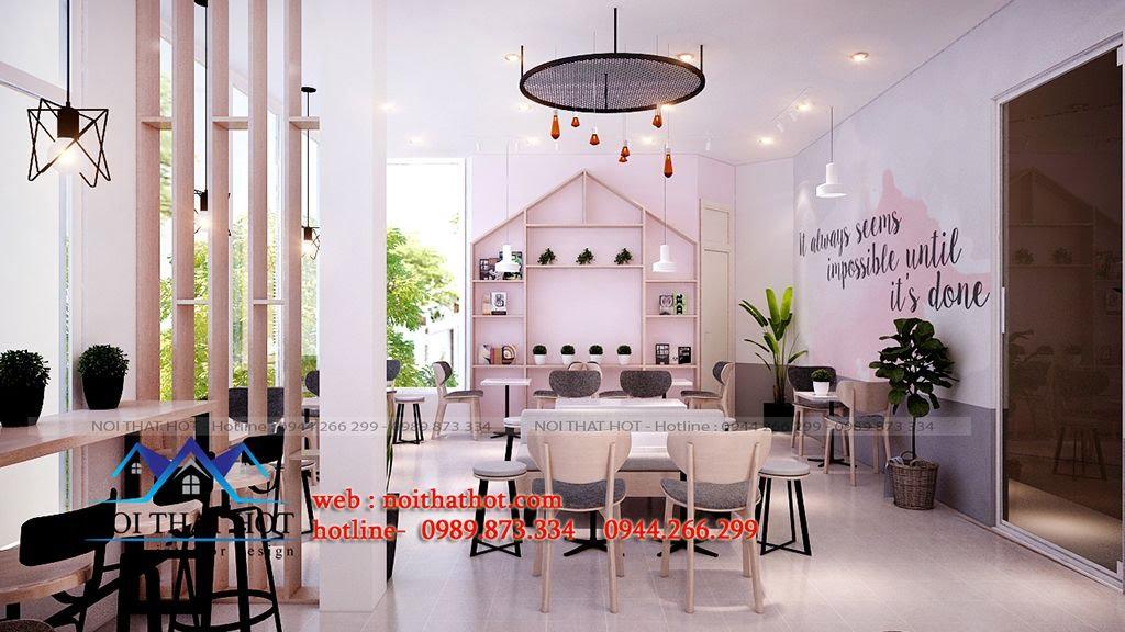 thiết kế quán trà sữa chuyên nghiệp
