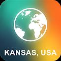 Kansas, USA Offline Map icon
