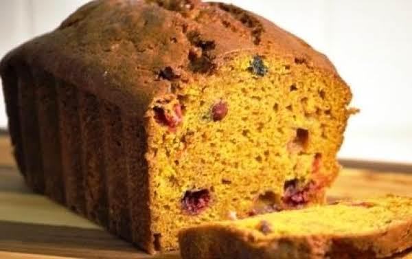 Pumpkin Cranberry Bread
