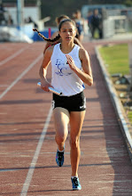 Photo: Alysha Johnson anchors 1st place 1600m relay 4:06.94