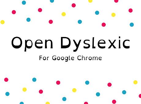OpenDyslexic for Chrome