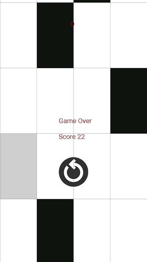 Tap Piano Tiles- screenshot