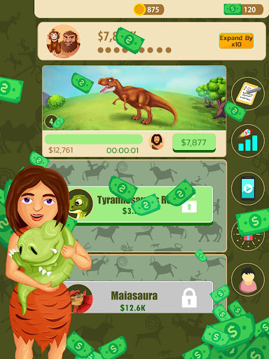 Jurassic Evolution: Dinosaur simulator games  screenshots 2