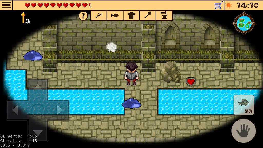 Survival RPG 2 - Temple ruins adventure retro 2d  poster 4