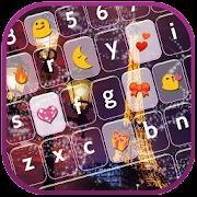 Night Paris Keyboard - Emoji