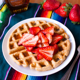 Plant Strong Whole Wheat Waffles