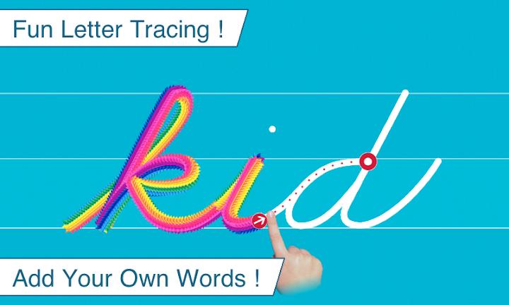 Cursive Writing Wizard - Handwriting Android App Screenshot