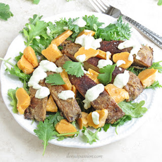 Sweet Potato Gnocchi with Portobello and Kale