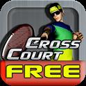 Cross Court Tennis Free icon