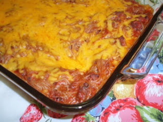 Spaghetti Casserole Recipe