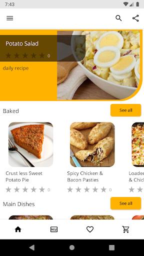 Potato Recipes 5.05 screenshots 1