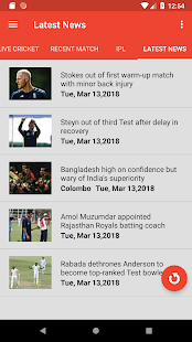 CrickBuzz 2018 : Cricket News and Lives for PC-Windows 7,8,10 and Mac apk screenshot 2