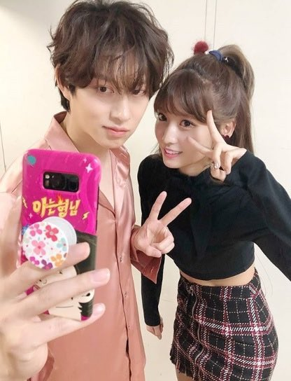 heechul and momo3