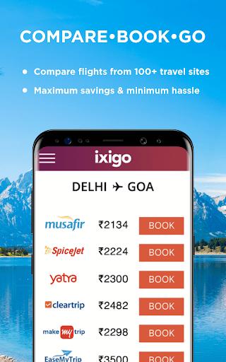 Flight & Hotel Booking App - ixigo 4.0.9.1 screenshots 1