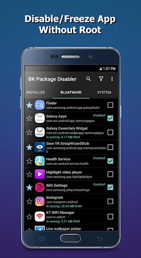 BK Package Disabler Samsung v2.4.1 (Paid)