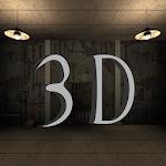 Horror escape game 3D icon