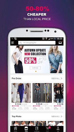 Chic Me - Best Shopping Deals Screenshot