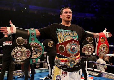 "Anthony Joshua face à Oleksandr Usyk, ""inévitable"" ?"