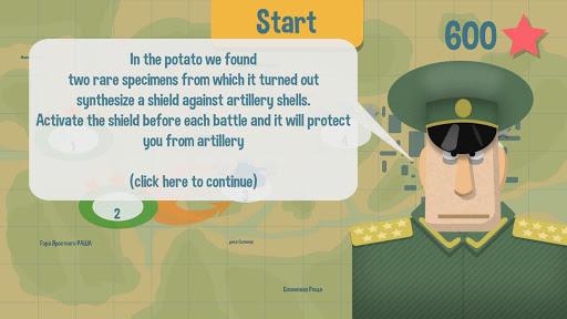 Potatoes Tank - Stars of Vikis android2mod screenshots 3