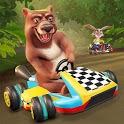Animal Kart Racing World Tour - Go Kart Racing icon