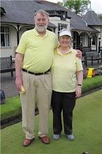 Photo: George & Rosemary:(Lady Captain)
